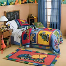 Comforter Ideas Boys And S by Truck Theme Bedding For Boys Big Rigs Construction Vehicles