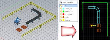 factory layout design autocad factory design utilities 2017 help managing asset layers