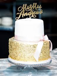 wedding cake gold 18 glamorous metallic wedding cakes