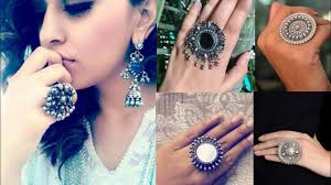 big rings design images Latest silver rings design ideas oxdized silver rings design ideas jpg