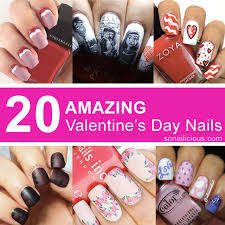 10 stunning pink nail designs perfect for valentine u0027s day