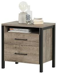 south shore furniture munich 2 drawer nightstand transitional
