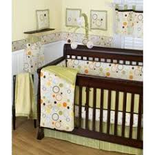Green And Brown Crib Bedding by Nursery Bedding Sets The Trend Lab Giggles 4 Piece Crib Bedding