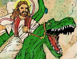 i believe dinosaurs existed the earth is old adam and eve weren