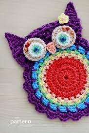 Crochet Owl Rug 13 Cute And Lovely Crochet Rug With Patterns Owl Rug Cotton