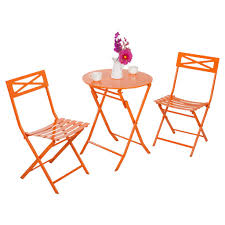 Metal Folding Bistro Chairs Captiva Design Folding Metal Bistro Set Cheap Patio Tables From