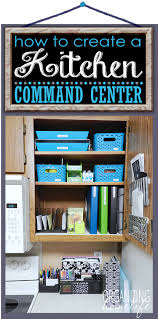 Kids Craft Center - 15 ways to create a command center like these super organized