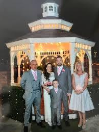 vegas weddings beautiful terrace gazebo wedding at vegas weddings picture of