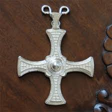 pectoral crosses for sale st cuthbert pectoral cross silver gallery byzantium