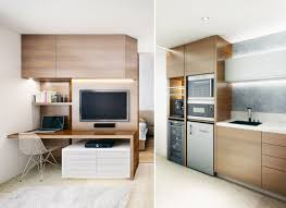 Small Open Plan Home Interiors - Small apartment kitchen design ideas