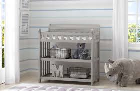 Changing Table Shelves by Delta Children Eclipse Changing Table With Pad Walmart Com