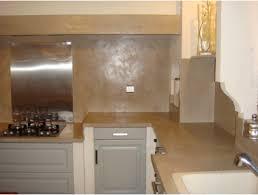 beton cire pour credence cuisine beton cire sur plan de travail cuisine en carrelage pour credence
