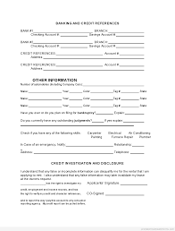 generic credit application template printable tenant rental application template 2015 sample forms