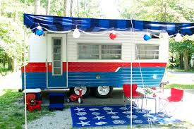 the lake house our vintage camper makeover laurie jones home