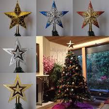 christmas tree toppers pf christmas tree topper plastic christmas tree topper for