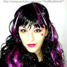 tutorial for middot monster high makeup tutorial by emma draculauramonster on high makeup and previous next