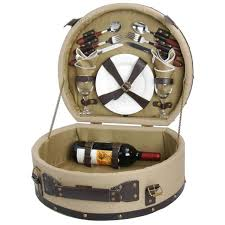Wine Picnic Baskets Wine Picnic Baskets Ideal For Hikes Parks Beaches And More