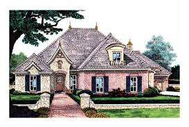 eplans french country house plan affluent living under 2 500 sq