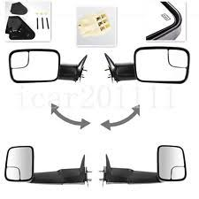 towing mirrors for dodge ram 3500 exterior mirrors for dodge ram 3500 ebay
