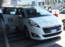peugeot taxi rome airport taxi book online welcome pickups