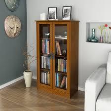 white bookshelf with glass doors furniture brown wooden book case with glass door added white sofa