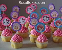 hello cupcake toppers hello cake cupcakes with hello the