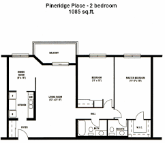 Floor Plan Of An Apartment Apartments In London Ontario Pineridge Place Apartments