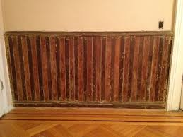 wood painted wainscoting installing painted wainscoting