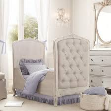 Crib And Toddler Bed Best Restoration Hardware Colette Tufted Crib And Toddler Bed For