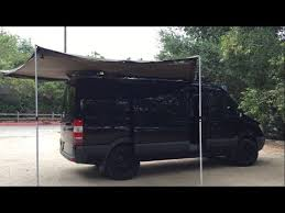 Foxwing Awning Price Sprinter Van Foxwing Awning Install Part 2 Youtube