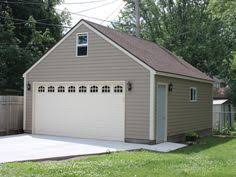 Building A Two Car Garage Over Size Two Car Garage Plan Two Car Garage Plans Pinterest