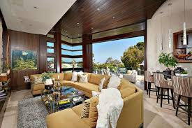 this arc house in la jolla features a 5 car garage and an