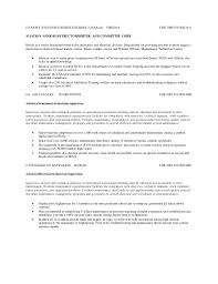 sample resume for electrician maintenance resume general maintenance worker resume sample