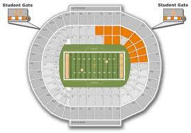 Rit Campus Map Neyland Stadium Big Orange Tix