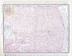 Map Of St Louis Detailed Street City Map St Louis Missouri Usa U2014 Stock Photo