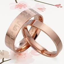 gold wedding rings sets your words lord of rings 18k gold wedding rings set flat