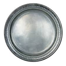 pewter platter pewter paper plates partycheap