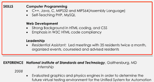 resume skills examples for students excellent resume skills