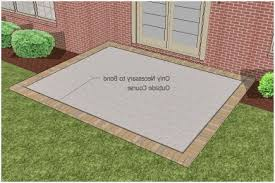 How To Cover A Concrete Patio With Pavers Concrete Patio Covering Options Get Minimalist Impression Erm Csd
