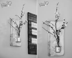 Black And White Wall Decor by Diy Bedroom Art Ideas Diy Modern Yarn Hanging Modern Wall Art