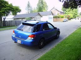 blue subaru hatchback 2004 subaru impreza wrx wagon awd auto sales