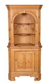 pine antique corner cabinet superior antique corner hutch for