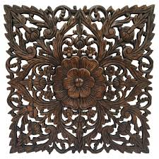 furniture awesome carved wood wall birds asian carved wood