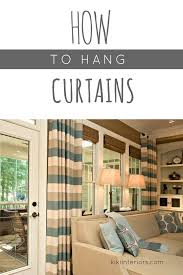 we answer wednesday how to hang curtains interiorsbykiki com