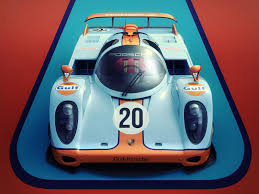 gulf racing wallpaper artstation classical le mans porsche concept encho enchev