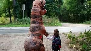 where can you pet a baby dinosaur ride a giant dinosaur look a