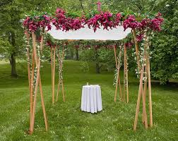 chuppah poles 10 ways in which flowers make your wedding a memorable affair