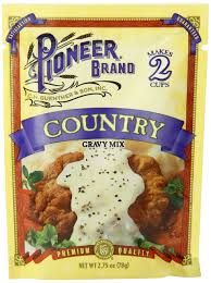 amazon com pioneer country sausage gravy mix 2 75 ounce pack