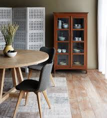 Teak Round Dining Table Sits  To  For The Home Pinterest - Teak dining table and chairs india