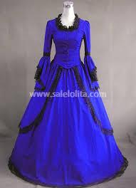 royal blue vintage victorian dress for sale salelolita com